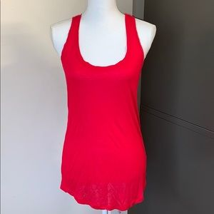 NWOT Forever 21 Red Long Slouchy Tank Top